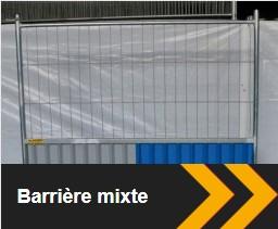 barrière Heras mixte